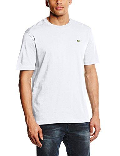 Lacoste - TH7618-00, T-shirt da uomo, bianco (weiß  (white 001)), M