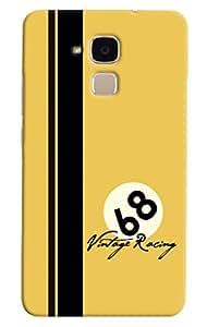 Omnam 68 Vintage Racing Printed Designer Back Cover Case For Huawei Honor 5C