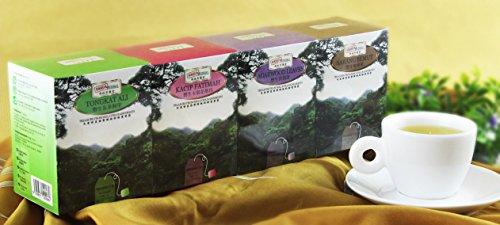 All Natural Rainforest Series Wellness Herbal Tea Gift Set