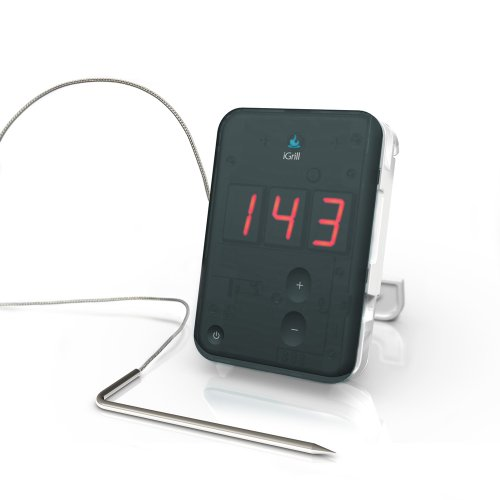 iDevices iGrill 7685-IGLK Grilling/Cooking Barbecue Thermometer, Black
