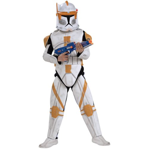 Deluxe Clone Trooper Commander Cody Costume - Medium