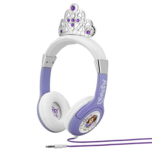 KIDdesigns Sofia The First Princess Headphones