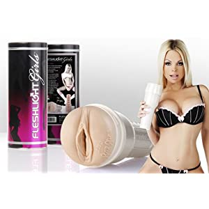 Bundle Jesse Jane Fleshlight and Aloe Cadabra Organic Lube Vanilla 2.5Oz