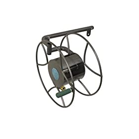 Yard Butler SRWM-180 Wall Mount Swivel Garden Hose Reel with 100-Foot Hose Capacity