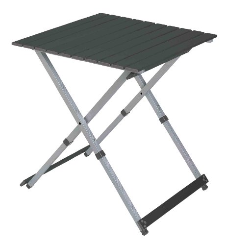 Gci Outdoor Compact Camp 25 Table, Black Chrome front-991061