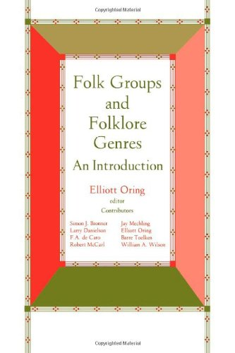 Folk Groups And Folklore Genres An Introduction087421162X : image