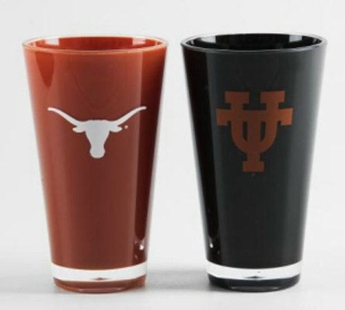 Texas Longhorns Official NCAA 20 fl. oz. Tumbler Cup Set by Duck House