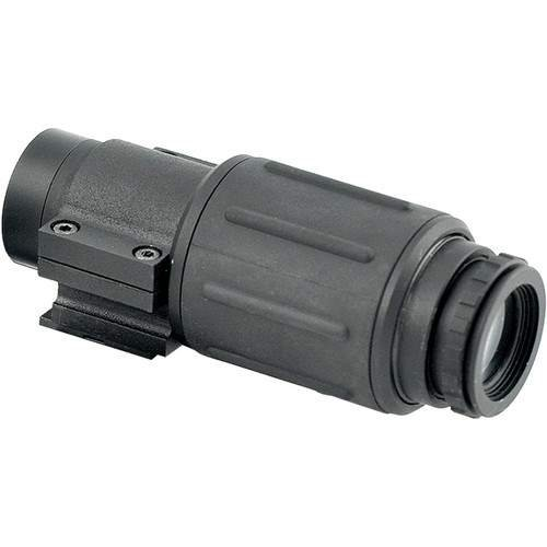 "Time-3X-3X Magnifier With 1.49""/37.8 Mm Optical Hight With Qr Mount"