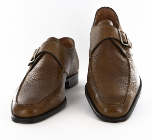 New Sutor Mantellassi Caramel Brown Shoes 7 56 5 O