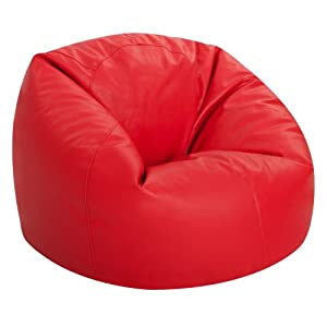 bean bag bazaar pouf poire xl faux cuir de luxe lambriss. Black Bedroom Furniture Sets. Home Design Ideas