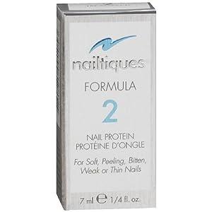 Nailtiques Formula 2 Nail Growth Formula Treatments, 0.25 Ounce