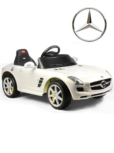 Kids Electric Ride On Car & Parent Remote Control Battery Childs Toy Mercedes Under Licensed Power Wheel With Key For Start FULLY LICENSED REPLICA