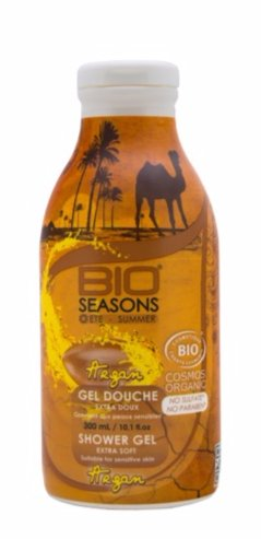 Gel douche à l'Argan - Bio Seasons