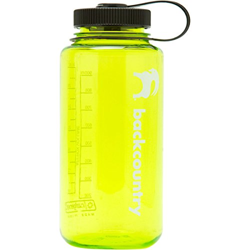Nalgene Wide Mouth Tritan Bottle - 32Oz Spring Green, One Size front-512226