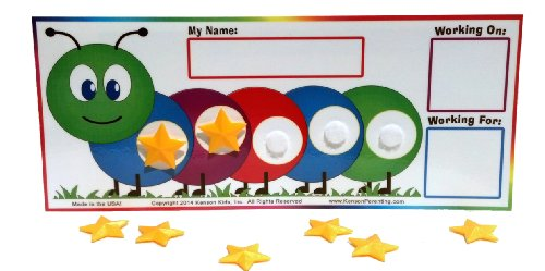 Kenson Kids Caterpillar Token Board