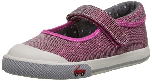 See Kai Run Marie Mary Jane Sneaker (Toddler/Little Kid),Hot Pink,8 M US Toddler (See Kai Run Shoes compare prices)