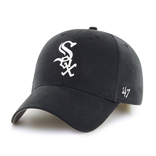 MLB Chicago White Sox Youth '47 Basic MVP Adjustable Hat, Home Color (White Sox Baseball Cap compare prices)