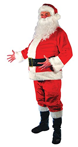 Mario Chiodo Mens Christmas Holiday Santa Claus Theme Party Fancy Costume