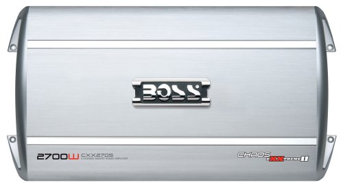 Boss Audio Cxx2705 Chaos Exxtreme Ii 2700-Watts Full Range Class A/B 5 Channel 2-8 Ohm Stable Amplifier With Remote Subwoofer Level Control