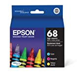 Epson DURABrite T068520 Ultra 68 High-capacity Inkjet Cartridge Color Multipack-Cyan/Magenta/Yellow