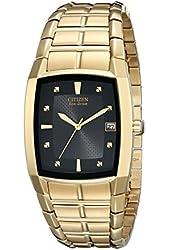Citizen Men's BM6552-52E Eco-Drive Gold-Tone Stainless Steel Watch