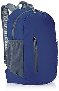 AmazonBasics Ultra thin Foldable Day Pack - Navy Blue, 35L