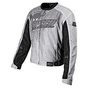 Amazon.com: SPEED AND STRENGTH Run with the Bulls Mesh Jacket Gray XL