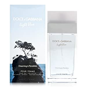 LIGHT BLUE DREAMING IN PORTOFINO For Women By DOLCE & GABBANA Eau De Toilette Spray