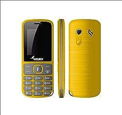 Melbon MB-877 Yellow Dual Sim Moblie Phone