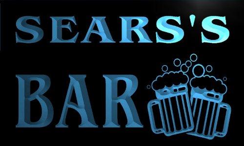 w001019-b-searss-nom-accueil-bar-pub-beer-mugs-cheers-neon-sign-biere-enseigne-lumineuse