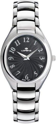 Lorenz 026662CC - Reloj , correa de acero inoxidable color plateado