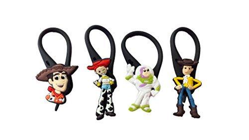 4 pezzi Toy Story # 2 Soft Zipper Pull Pendaglio di Zaino di Giacca