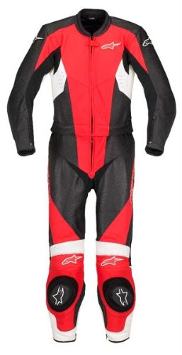 Alpinestars Stella Ladies Womens TX-1 Two 2 Piece Leather Race Suit SALE £399.99 UK 10 UK 12 RED (EURO 42 UK 10)