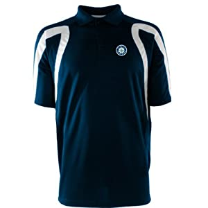Seattle Mariners Point Polo Shirt (Team Color) by Antigua