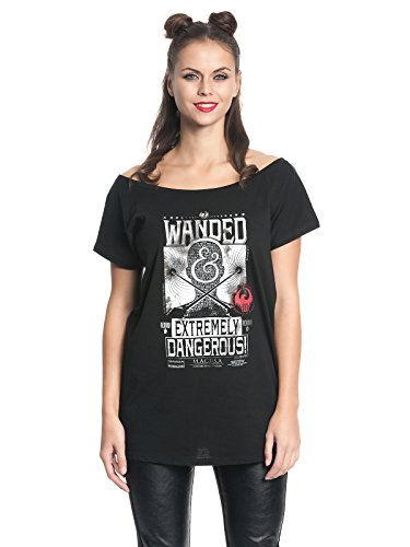 Fantastic Beasts and Where to Find Them Wanded Maglia donna nero M