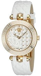 Versace Women's VQM020015 Vanitas Micro Analog Display Swiss Quartz White Watch
