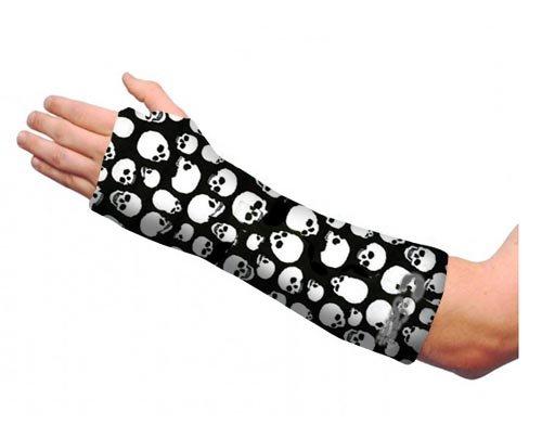 Arm Cast Cover - Short - Skulls (Adult L/XL) (Short Arm Cast Cover compare prices)