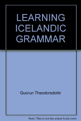 Learning Icelandic: Grammar Exercises