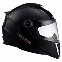 LS2 Helmets FF392 Junior Full Face Motorcycle Helmet (Gloss Black, Large) by LS2 Helmets