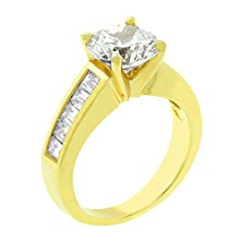 buy J Goodin Classic Baguette Gold Anniversary Ring Size 9