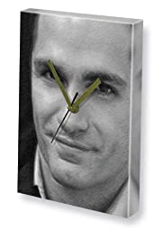 SAMUEL WITWER - Canvas Clock (A4 - Signed by the Artist) #js001