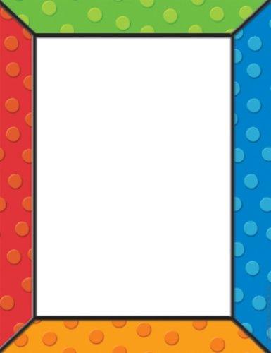 Eureka Computer Paper, Polka Dots, Package Of 50 Sheets (812126) front-1063081