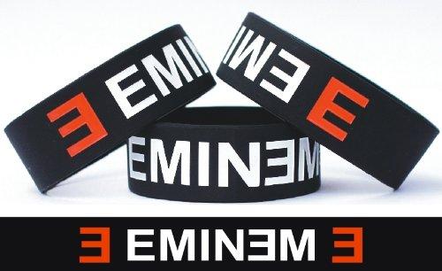 Eminem One Inch Silicone Wristband Wrist Band