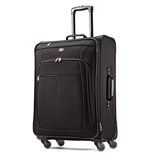 American tourister at pops plus 3 piece nested set black one size luggage bags suitcases - American tourister office bags ...