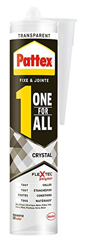 pattex-1996220-one-for-all-crystal-colle-de-fixation-joint-290-g