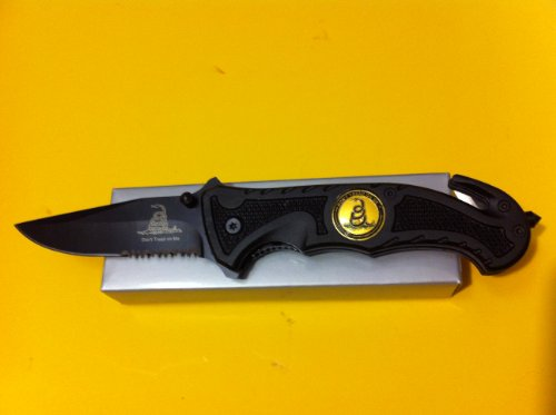 1 X Dont Tread On Me Rescue Knife