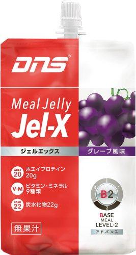 DNS ジェルエックス JelーX グレープ風味 285g×6個入り