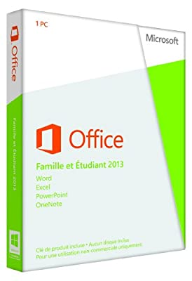 Microsoft Office Home and Student 2013 32-bit/x64 French