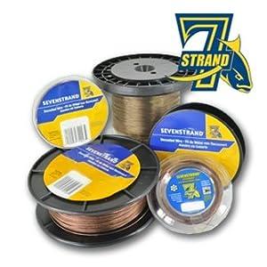 SEVENSTRAND - SEVALON CLEAR NYLON COATED STAINLESS STEEL WIRE 18 LB SEVALON - 300 FT