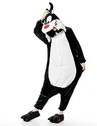 VU ROUL Unisex Adult Wolf Animal Clothing Kigurumi Cosplay Costume Pajamas